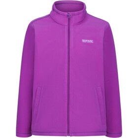 Regatta King Fleece II Fleece Jacket Kinder vivid viola
